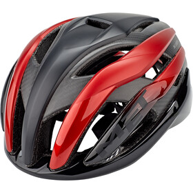 MET Trenta 3K Carbon Casque, black/red metallic